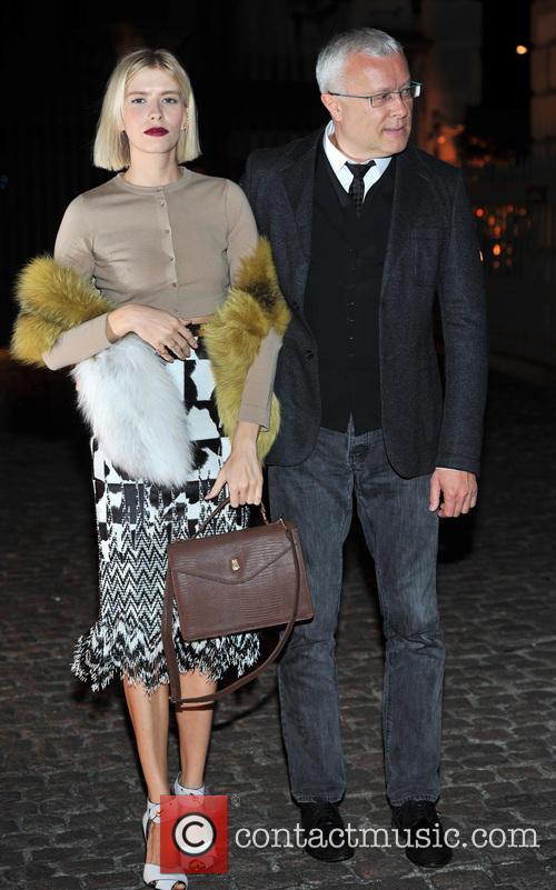 Elena Perminova and Alexander Lebedev 4