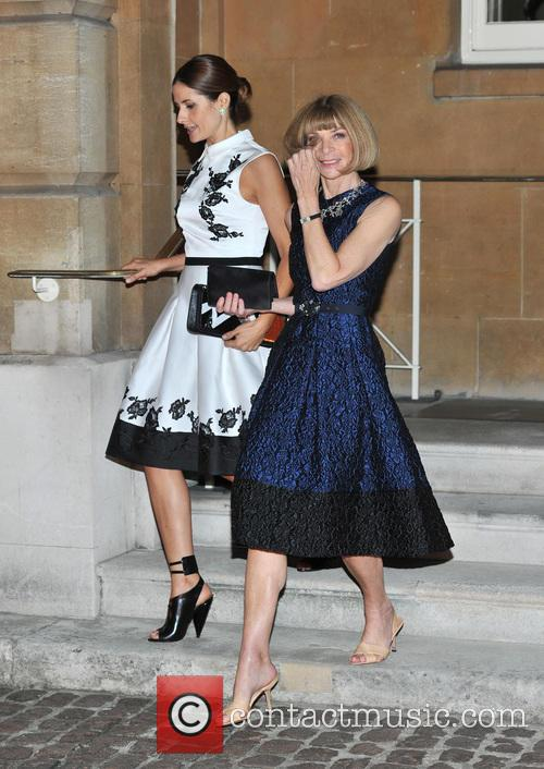 Livia Giuggioli and Anna Wintour 2