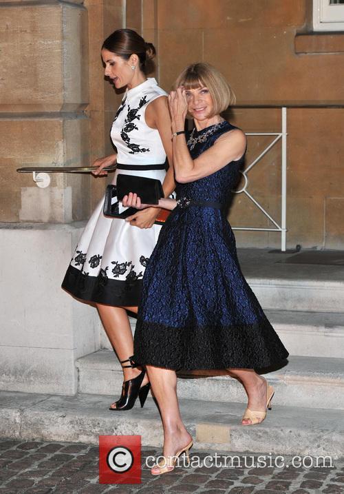 Livia Giuggioli and Anna Wintour 3