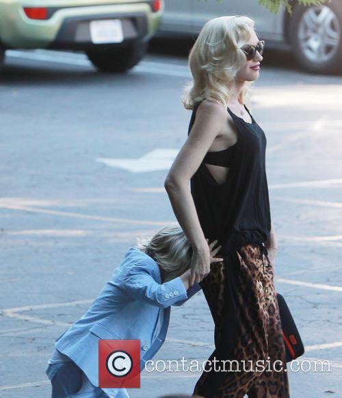 Gwen Stefani and Zuma 3