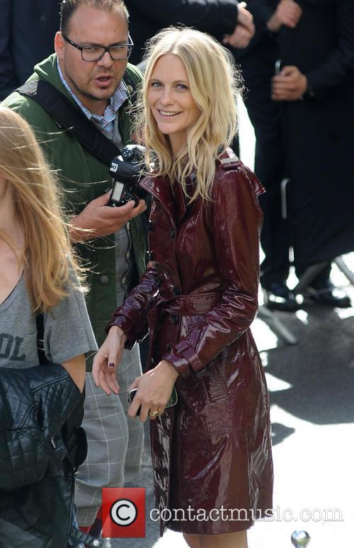 Poppy Delevigne, London Fashion Week