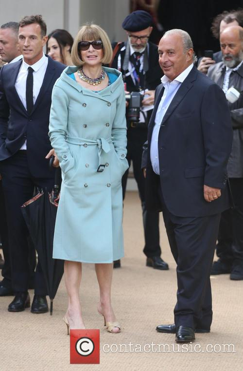 Anna Wintour and Sir Philip Green 9