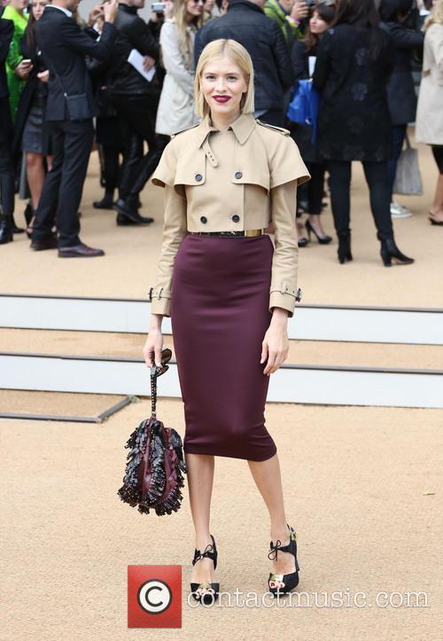 Elena Perminova, London Fashion Week