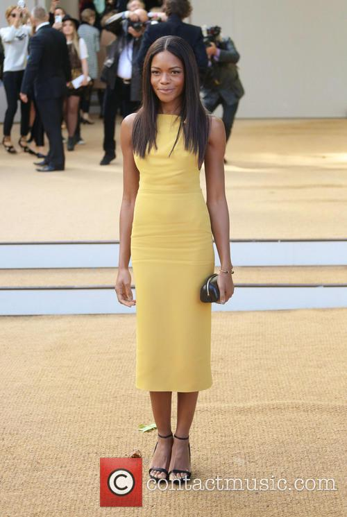 Naomie Harris, London Fashion Week