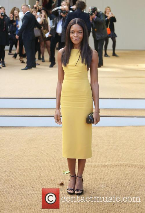 naomie harris london fashion week ss14  3869462