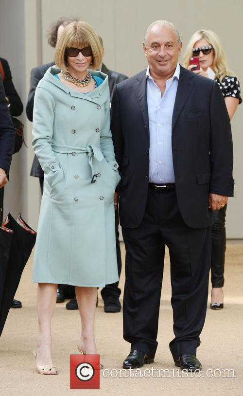 Sir Philip Green and Anna Wintour 1