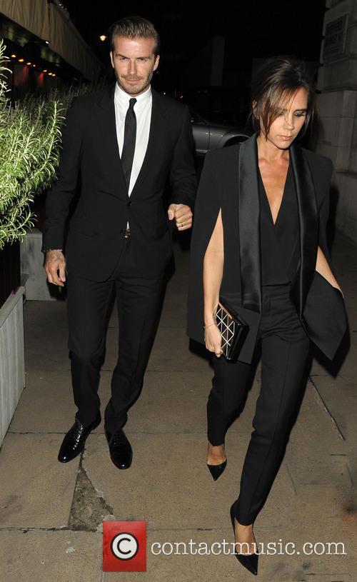 David Beckham and Victoria Beckham 11
