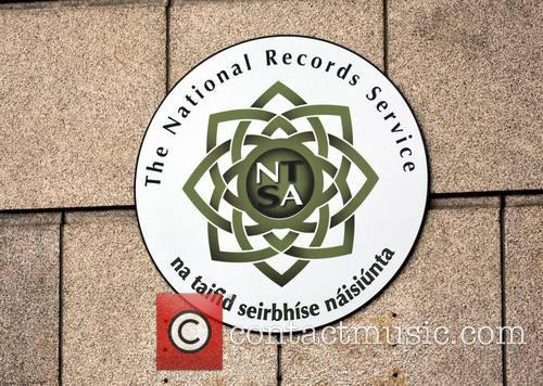 National Records Service Sign 2