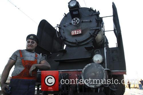 Bulgaria Retro Train Steam Locomotive 3
