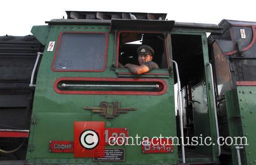 Bulgaria Retro Train Steam Locomotive 4