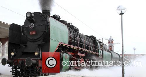 Bulgaria Retro Train Steam Locomotive 5
