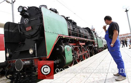 Bulgaria Retro Train Steam Locomotive 7