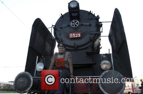 Bulgaria Retro Train Steam Locomotive 8