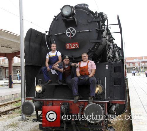 Bulgaria Retro Train Steam Locomotive 10