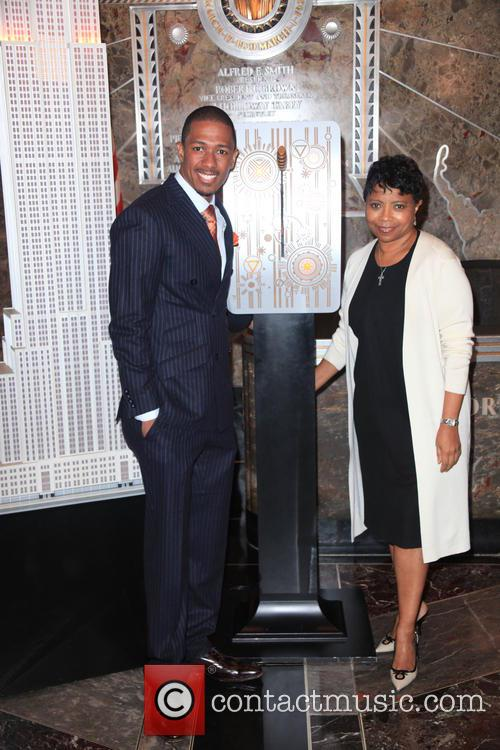 Nick Cannon and Marva Smalls 4