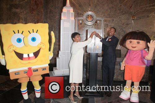 Spongebob Squarepants, Marva Smalls, Nick Cannon and Dora The Explorer 3