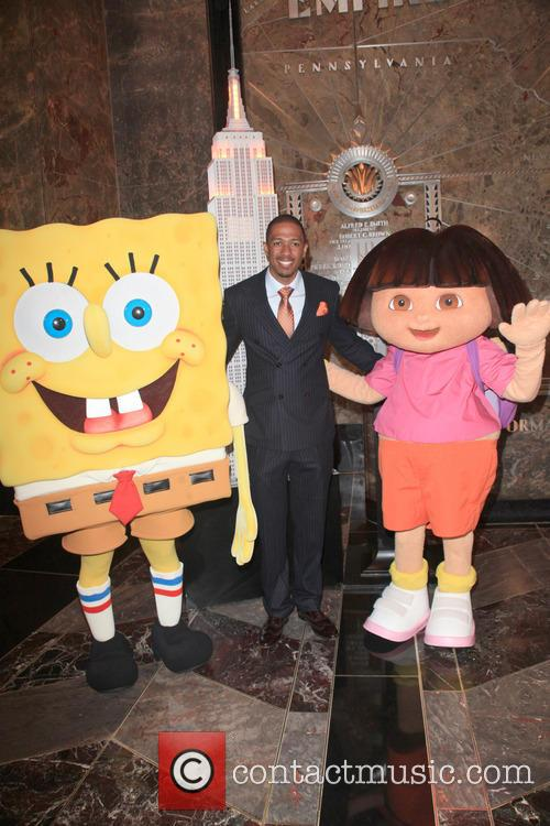 Spongebob Squarepants, Nick Cannon and Dora The Explorer 2
