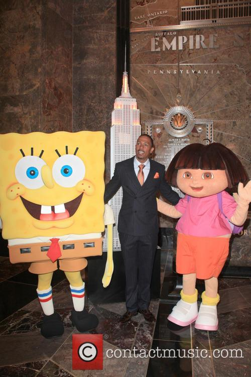 Spongebob Squarepants, Nick Cannon and Dora The Explorer 4