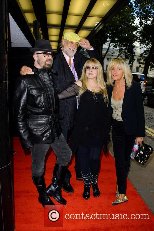 Dave Stewart, Mick Fleetwood and Stevie Nicks 1