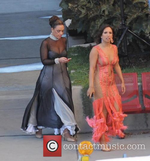 Leah Remini and Cheryl Burke 3