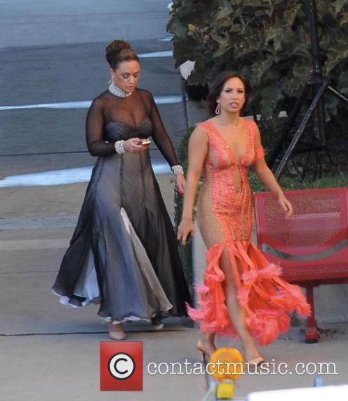 Leah Remini and Cheryl Burke 7