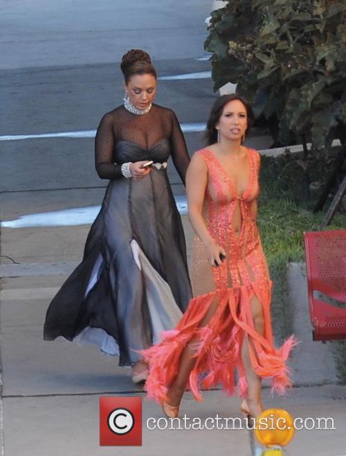 Leah Remini and Cheryl Burke 11