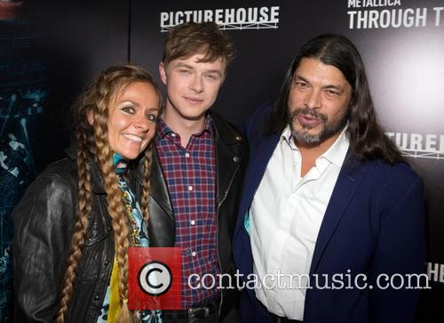 Chloe Trujillo, Dane DeHaan, Robert Trujillo, AMC Theater / Metreon