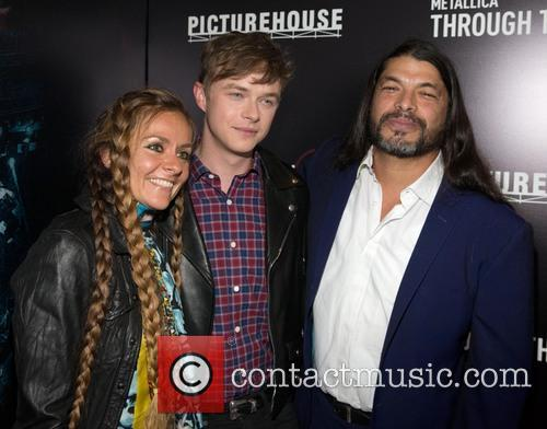 Chloe Trujillo, Dane Dehaan and Robert Trujillo 2