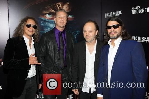 Kirk Hammett, James Hetfield, Lars Ulrich and Robert Trujillo 5