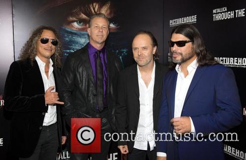 Kirk Hammett, James Hetfield, Lars Ulrich and Robert Trujillo 7
