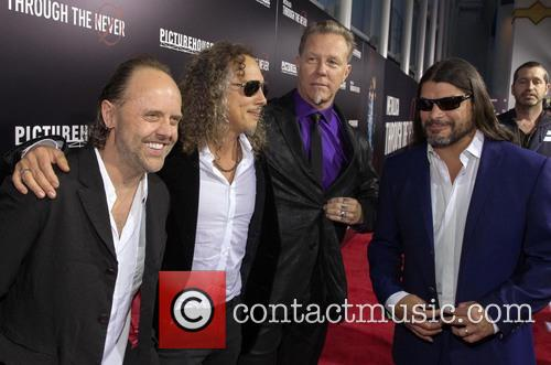 Lars Ulrich, Kirk Hammett, James Hetfield and Robert Trujillo 4