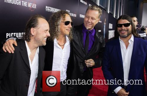 Lars Ulrich, Kirk Hammett, James Hetfield and Robert Trujillo 5