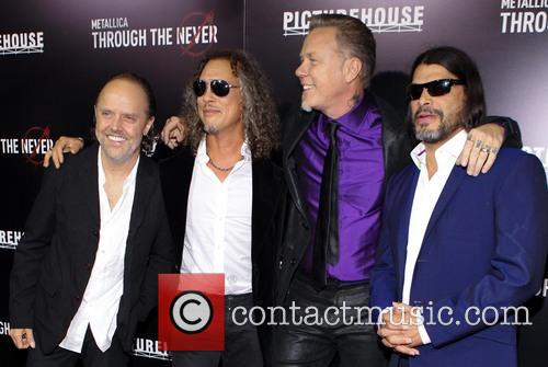 Lars Ulrich, Kirk Hammett, James Hetfield and Robert Trujillo 7
