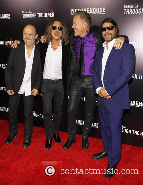 Lars Ulrich, Kirk Hammett, James Hetfield and Robert Trujillo 1