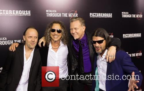 Lars Ulrich, Kirk Hammett, James Hetfield and Robert Trujillo 9