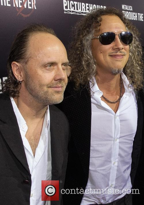 Lars Ulrich and Kirk Hammett 10