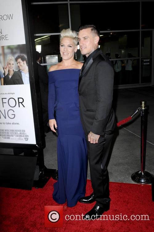 Alecia Moore aka Pink and Carey Hart 2