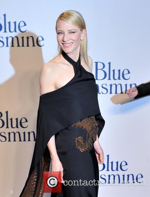 Cate Blanchett at the UK premiere of 'Blue Jasmine'