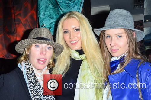 Anna Winslet, Emma Noble and Designer Arina Pritch 2