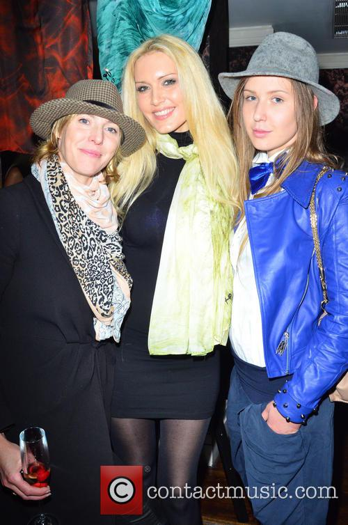 Anna Winslet, Emma Noble and Designer Arina Pritch 1