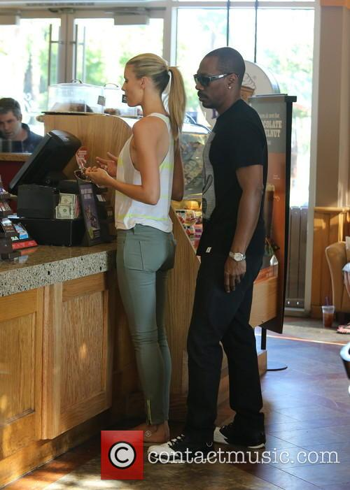 Eddie Murphy and Paige Butcher out and about...