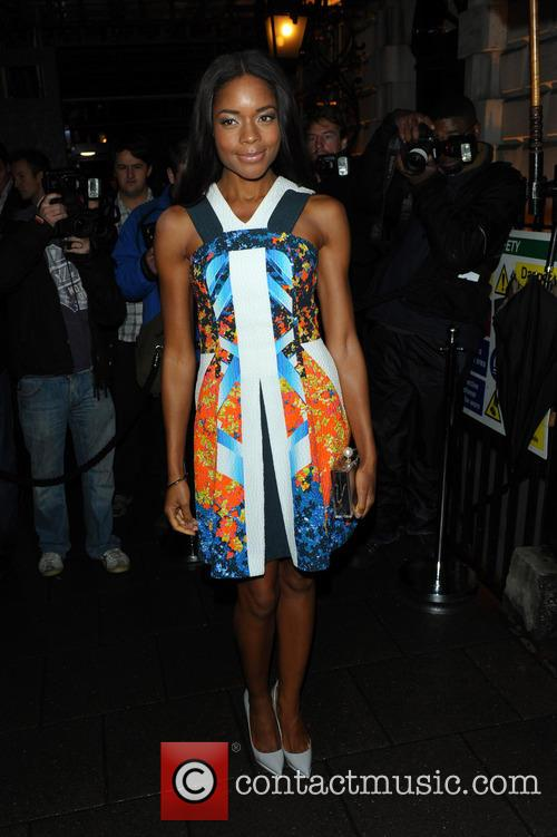 Naomi Harris, Annabel's, London Fashion Week
