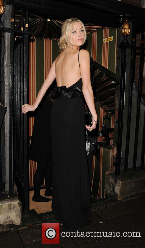 Laura Whitmore, UK, London Fashion Week