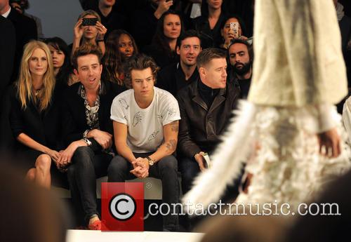 Poppy Delevingne, Nick Grimshaw and Harry Styles 4