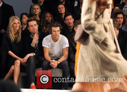 Poppy Delevingne, Nick Grimshaw and Harry Styles 6