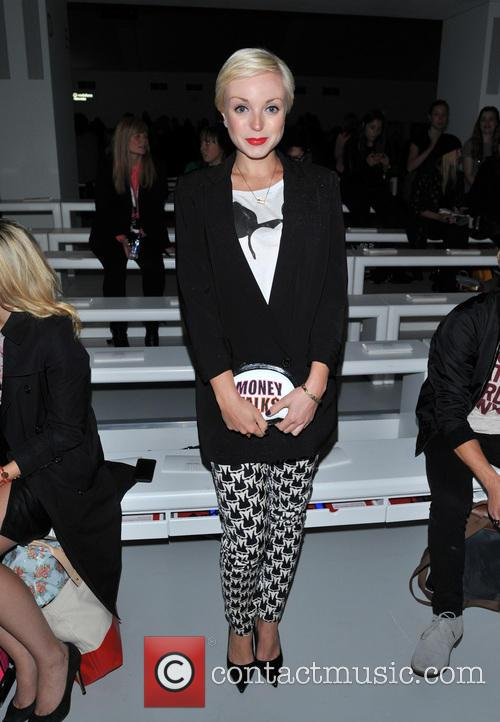 Helen George London Fashion Week Ss14 Maria Grachvogel Front Row 2 Pictures