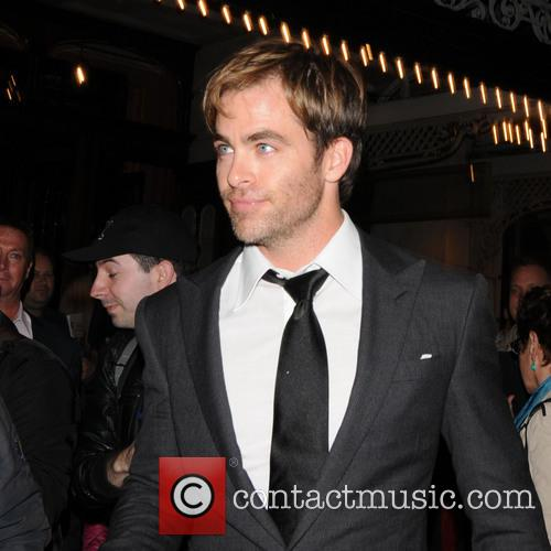 Chris Pine, UK
