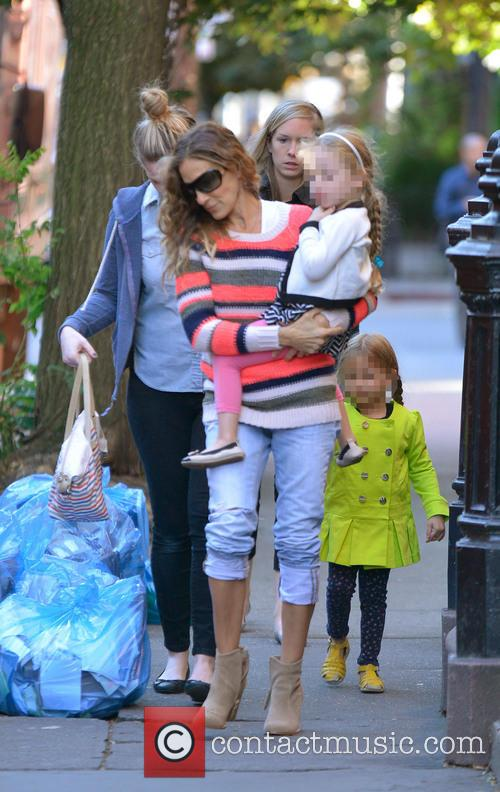 Sarah Jessica Parker, Marion and Tabitha 6