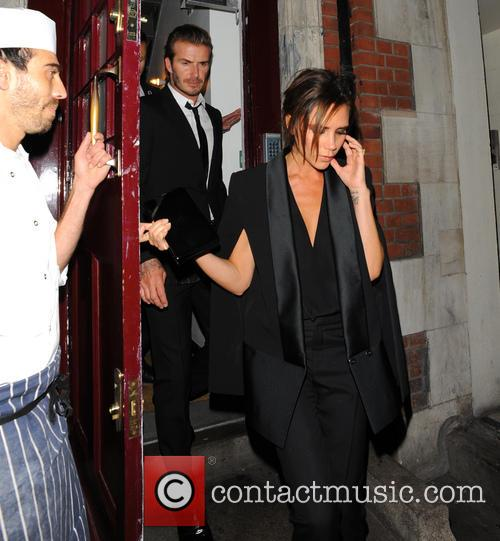 Celebrities leave party in Loulou's Private Club