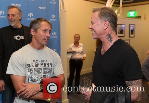 James Davis and James Hetfield 1